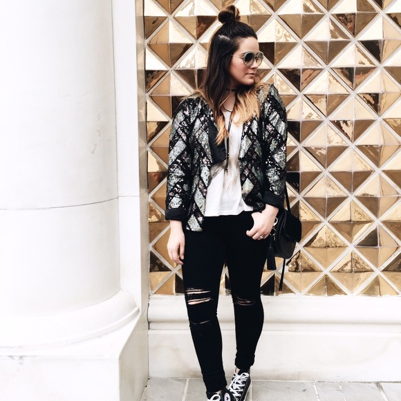 Chaser Jackets & Blazers - Chaser sequin jacket